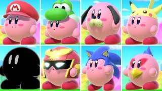 All Kirby Transformations in Super Smash Bros. Ultimate