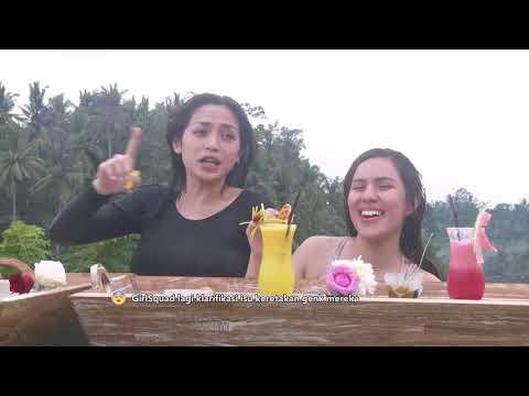 CELEB SQUAD - Seru-Seruan Di  Bali Bareng Girls Squad (17/3/18) Part 1