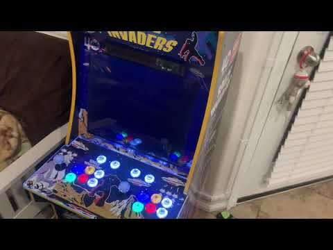 Space Invaders Arcade1Up Mod RetroPie Setup from Otaku United A.S.