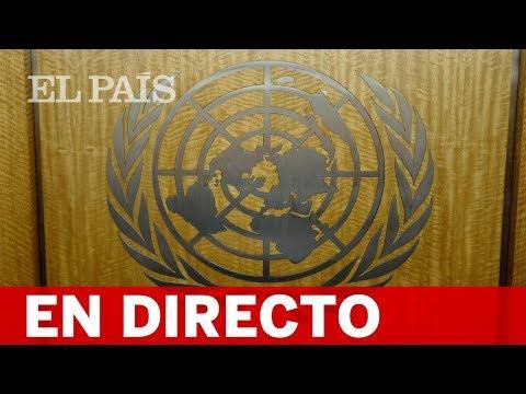 Directo: Maduro, Duque, Díaz-Canel, May y Conte, en la Asamblea General de la ONU