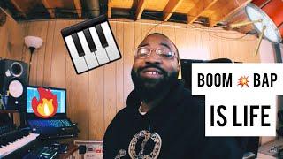 boom bap is LIFE (making a boom bap hip hop beat)