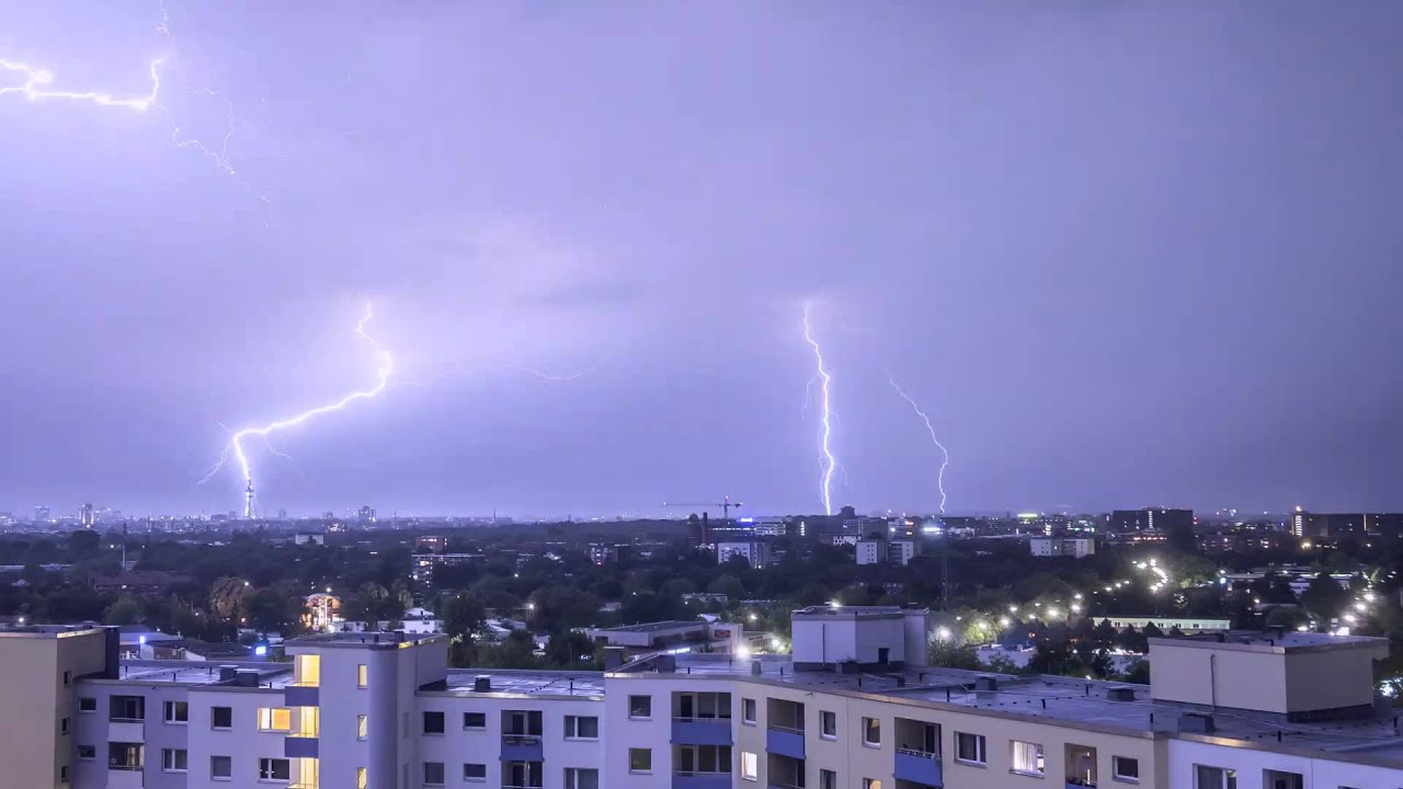 Thunderstorm Time Lapse in Full hd video 1080p 1920x1080 ...