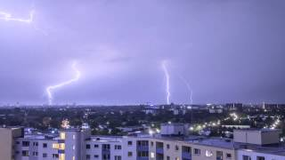 Thunderstorm Time Lapse in Full hd video 1080p   1920x1080 high quality