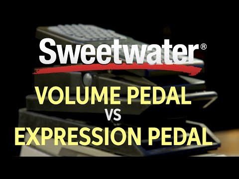 Volume Pedal vs. Expression Pedal — Your Questions Answered!
