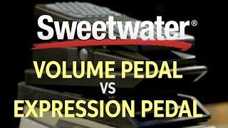 Volume Pedal vs. Expression Pedal — Daniel Fisher