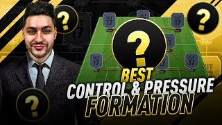 BEST CONTROL & PRESSURE FORMATION IN FIFA 17 - TUTORIAL !!!! BEST CUSTOM TACTICS & INSTRUCTIONS