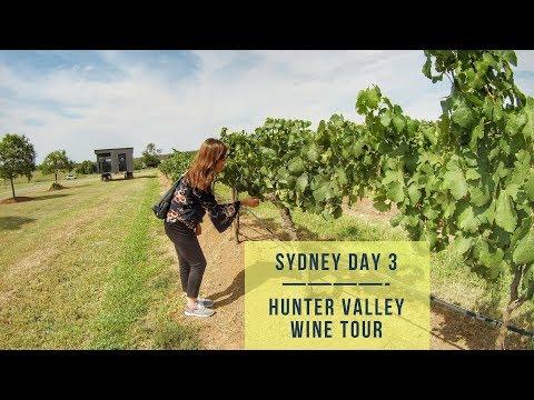 SYD Vlog Day 3 - Hunter Valley Wine Tour