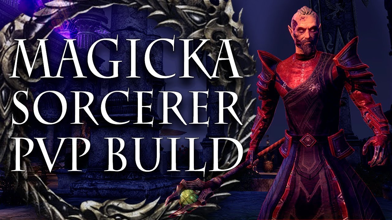 ESO PVP | In Depth Magicka Sorcerer PvP Build | Summerset Patch