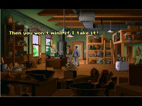 Let's Play Indiana Jones and the fate of Atlantis part1: intro and the kick ass theme! |