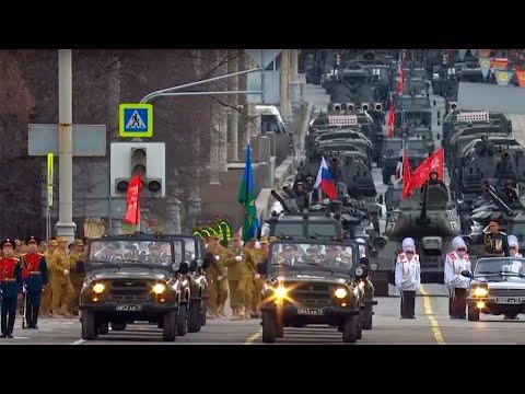 Военный парад в Екатеринбурге 9 мая 2018 года (полная версия)