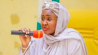 Gambar cover Aisha Buhari apologises over leaked video