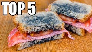 TOP 5 - Nebezpečných jídel, která jíme