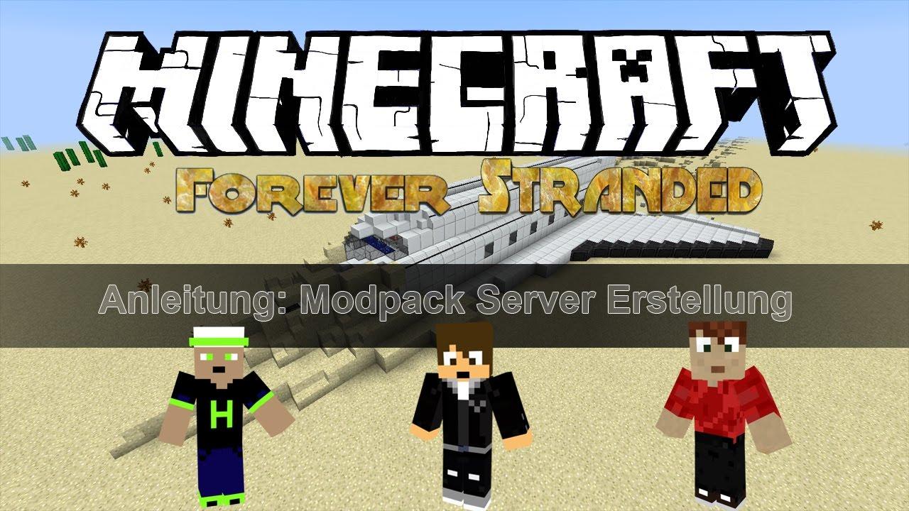 Forever Stranded Server InstallierenErstellenTutorial DeutschHD - Minecraft server spielen ohne download
