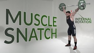 Muscle SNATCH / weightlifting & crossfit