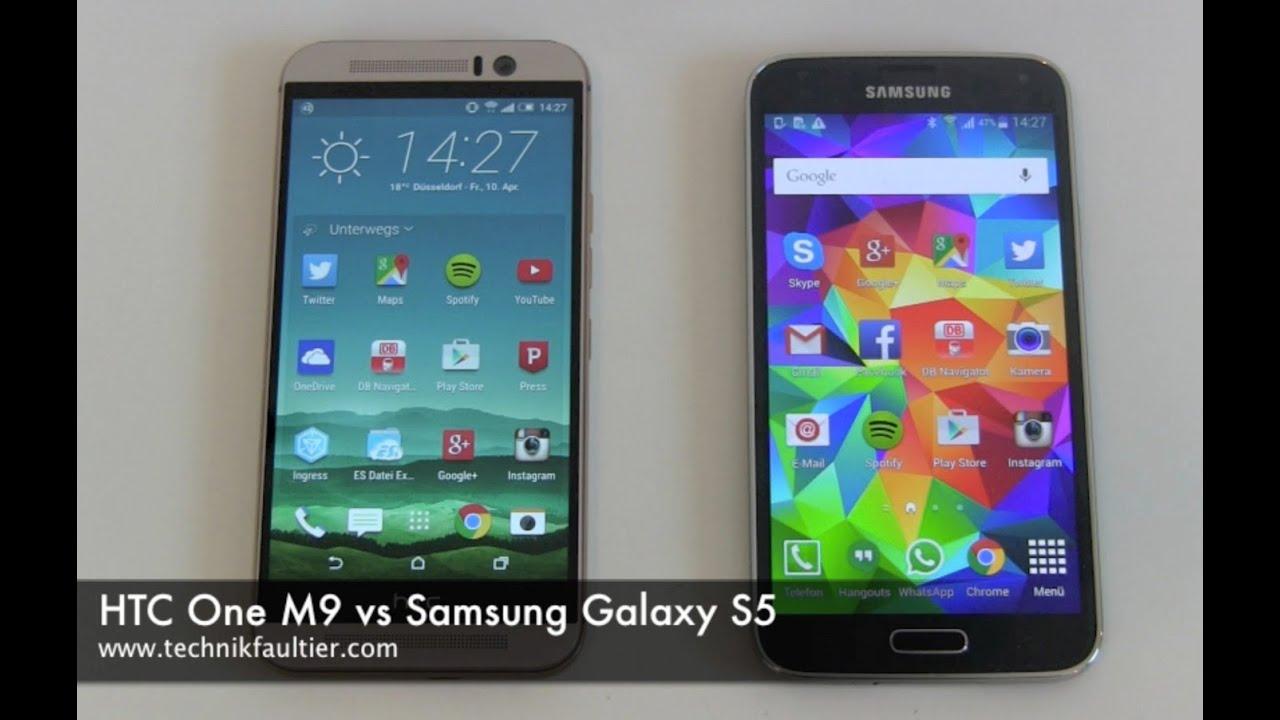 HTC One M9 vs Samsung Galaxy S5 - YouTubeHtc One Max Vs Galaxy S5