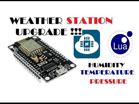 Погодная станция ESP8266 и BME280 апргрэйд !!!!