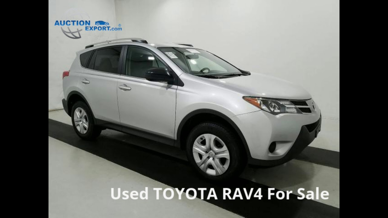 Export Car from USA to Germany - Auction Export - 2014 TOYOTA RAV4 ...