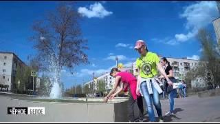 Enraged fountain of Stalingrad .Танцующий фонтан у администрации Волгограда 2015