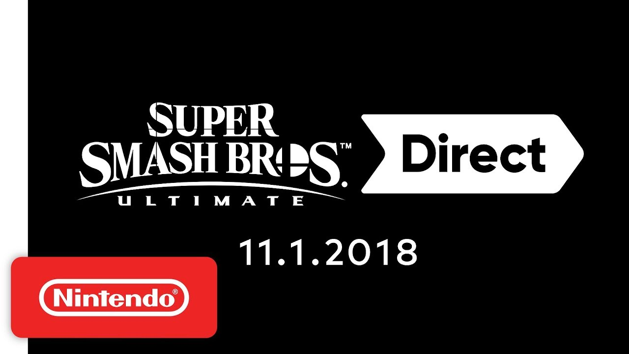 Super Smash Bros  Ultimate Direct 11 1 2018