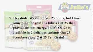 Julie's oat 25 radio commercial by tarc ...