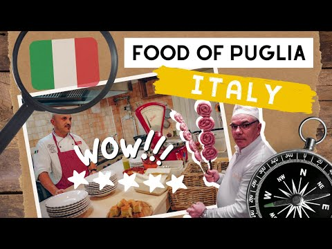 Good Food In Italy: Puglia Region Specialties #WeAreInPuglia