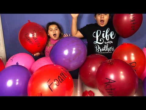 Making Slime With Giant Balloons! Giant Slime Balloon Tutorial - Valentine's Day Edition