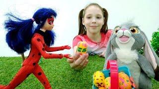 Леди Баг помогает Пасхальному кролику - Видео для девочек
