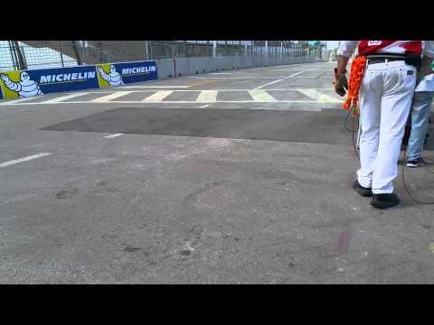 Miami Formula E ePrix March 15th 1st Lap Turn 7
