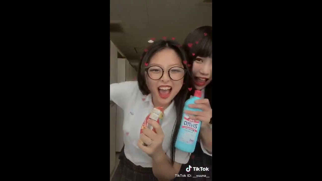 女子高生の楽しい青春#1😍💖【Tik Tok Japan】Very cute!!Tik Tok High school!!