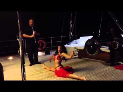 Yacht Charter : Enjoy Turkish Belly Dancing on a Yacht Charter in Turkey