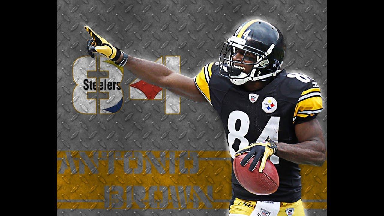 Pittsburgh Steelers Iphone Wallpaper Antonio Brown Pittsburgh Steelers Mcfarlane Nfl 32 Youtube