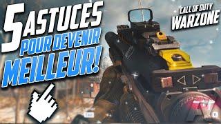 5 Astuces pour DEVENIR MEILLEUR  ! Warzone (PC-PS4-ONE)