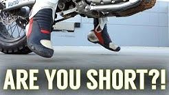 Motorcycles for Short Riders - Tips and Tricks