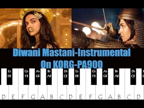 deewani mastani-Part 2-(interlude)-on keyboard