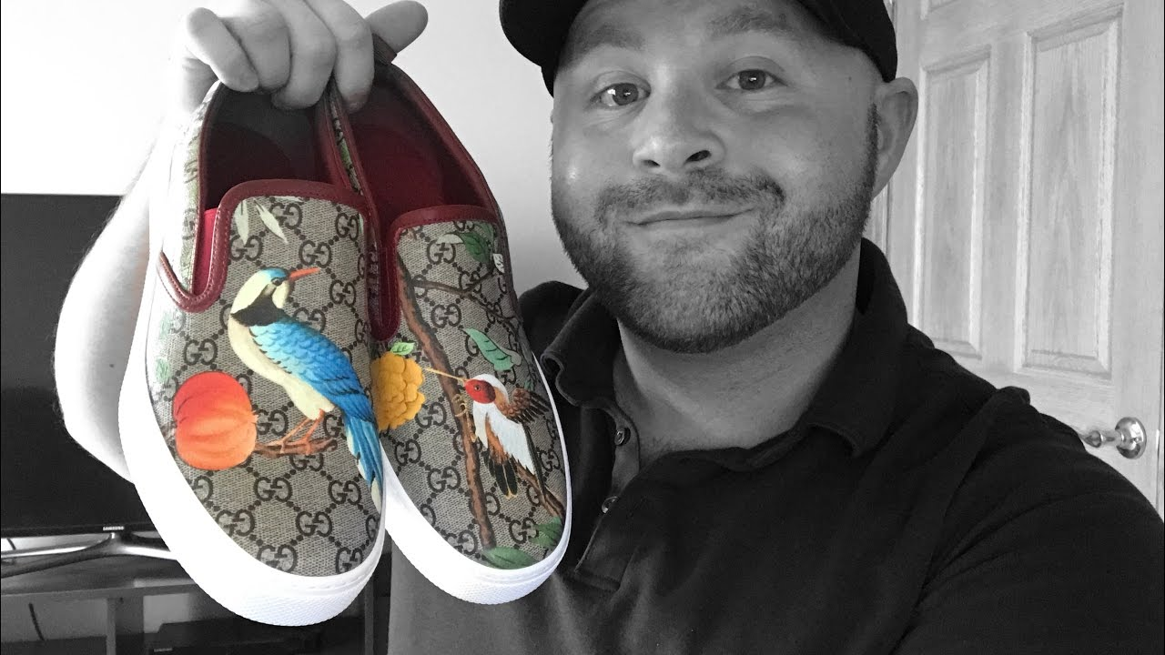 211aa2eb162 Gucci Tian Slip On Sneakers     REVIEW     - YouTube