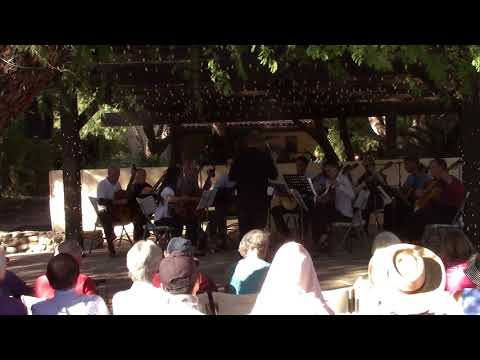 Tucson Guitar Society Orchestra performing  Gente Humilde