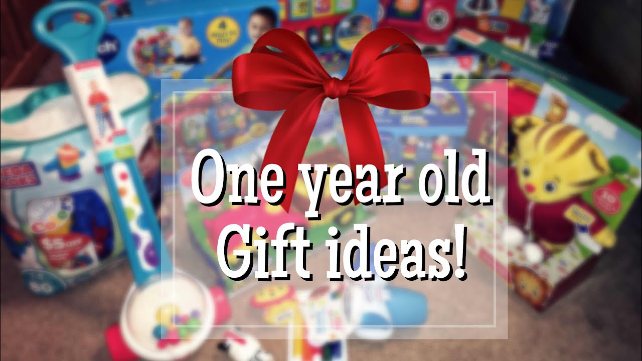 What I Got My Kid for Christmas 2017 | One Year Old Gift Ideas - YouTube