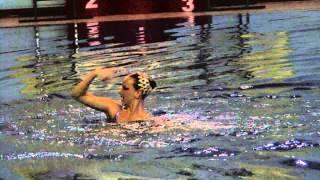 VI летняя спартакиада учащихся. Синхронное плавание. Соло.