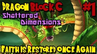 Dragon Block C: Shattered Dimensions (Minecraft Mod) - Episode 1 - Faith is Restored Once Again