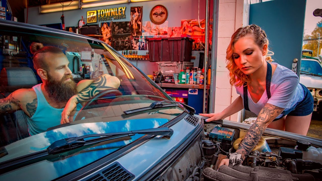 Girl Mechanic Nude virgil davies the naked mechanic