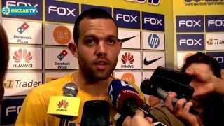 Pre-game: Jordan Farmar, Maccabi FOX Tel Aviv