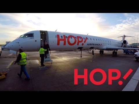 FLIGHT REPORT / HOP! AIR FRANCE CRJ 1000 / AMSTERDAM - NANTES
