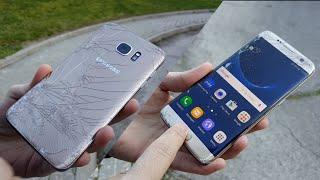 Test de Caídas del Samsung Galaxy S7 Edge ¿sobrevivirá?