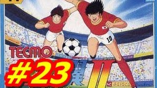 Captain Tsubasa 2 NES #23 Japan Vs China (English) HD