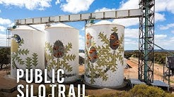 Discover WA's largest outdoor art gallery: The PUBLIC Silo Trail