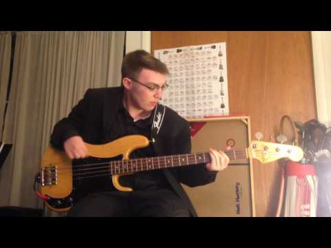 Smokey Robinson and The Miracles - Going to a Go-Go (Bass Cover)