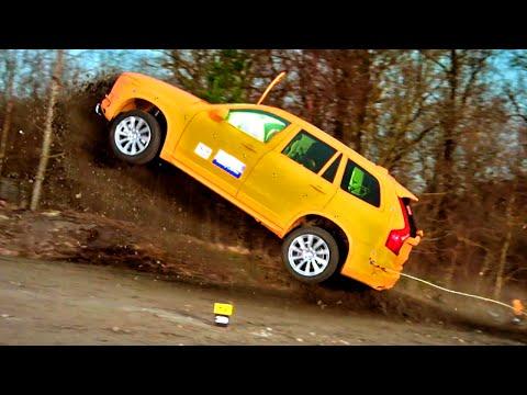 Crashing The Volvo XC90  - Fifth Gear