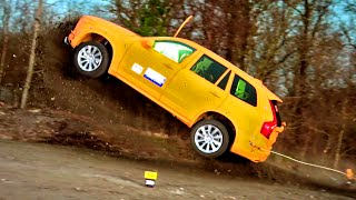 Repeat youtube video Crashing The Volvo XC90  - Fifth Gear