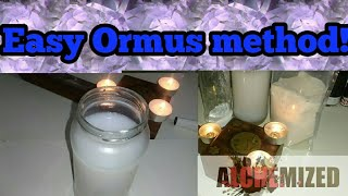 How to make Ormus EASY with NO lye and no PH meter - With Natron/sodium carbonate. Wet method!