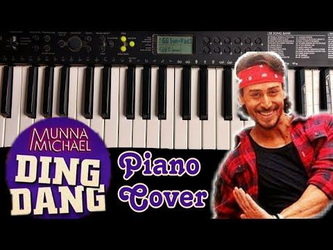 Ding Dang Song On Piano | Munna Michael | Piano Cover | Instrumental | Tiger Shroff | The Kamlesh